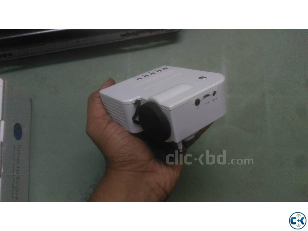 Projector Portable Lowest Price New 1080p | ClickBD large image 4