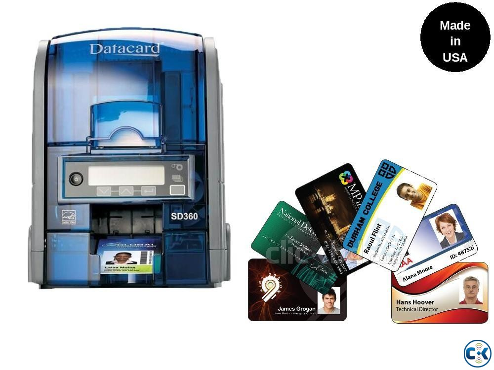 Datacard SD360 ID Card Printer Dual Sided  | ClickBD large image 0