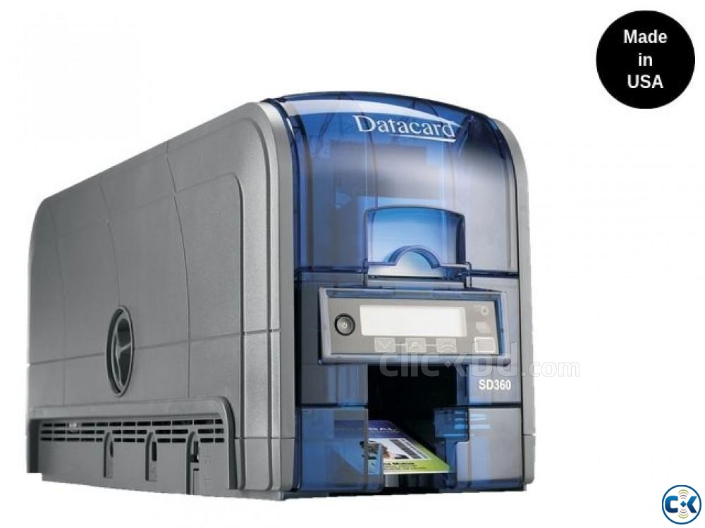 Datacard SD360 ID Card Printer Dual Sided  | ClickBD large image 3