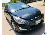HYUNDAI ACCENT BLACK SUNROOF 2014