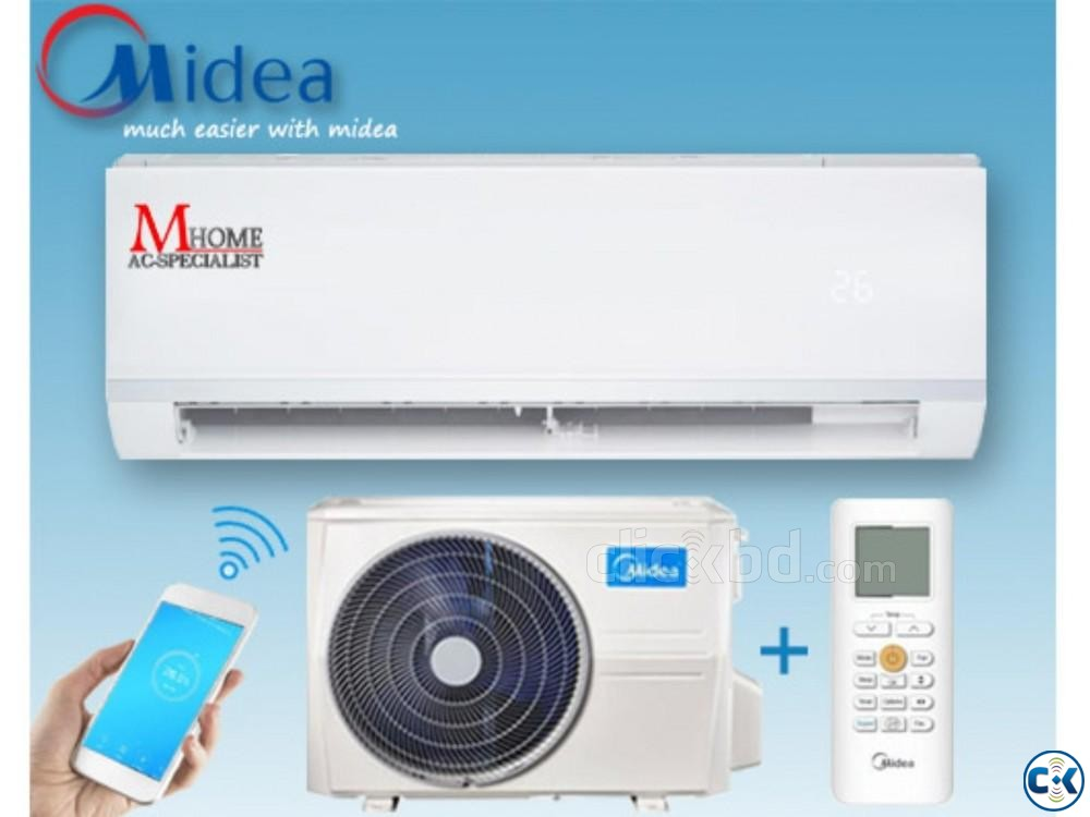 Midea Wall Mounted AC 1.0 Ton MSM-CRN Best Ever | ClickBD large image 0