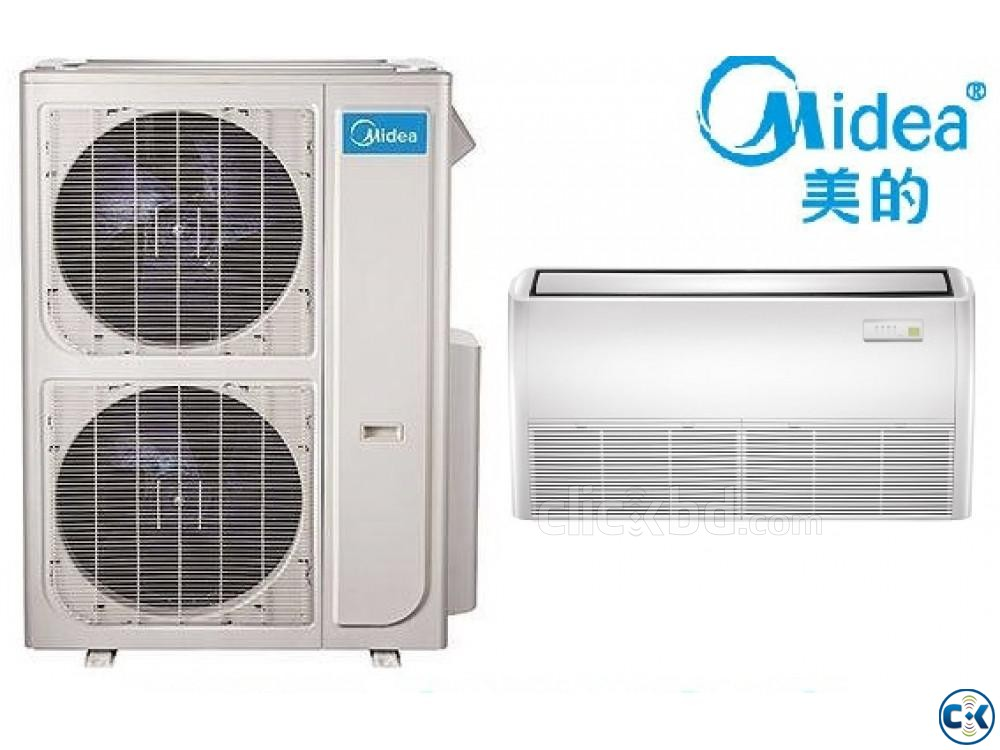 Midea 5.0 Ton Ceilling Cassette Type air conditioner ac | ClickBD large image 2