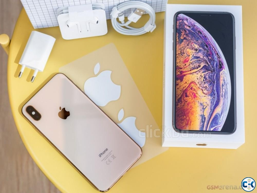 Apple iPhone XS Max Gold 256 GB  | ClickBD large image 4