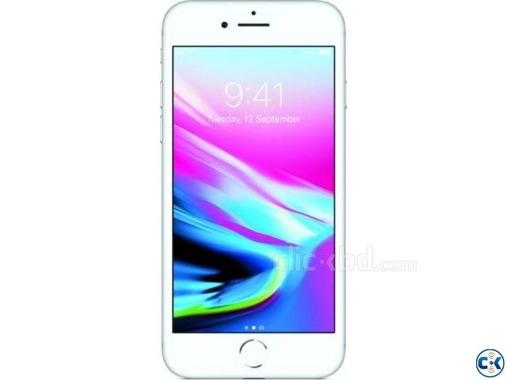 Apple iPhone 8 Silver 64 GB  | ClickBD large image 0