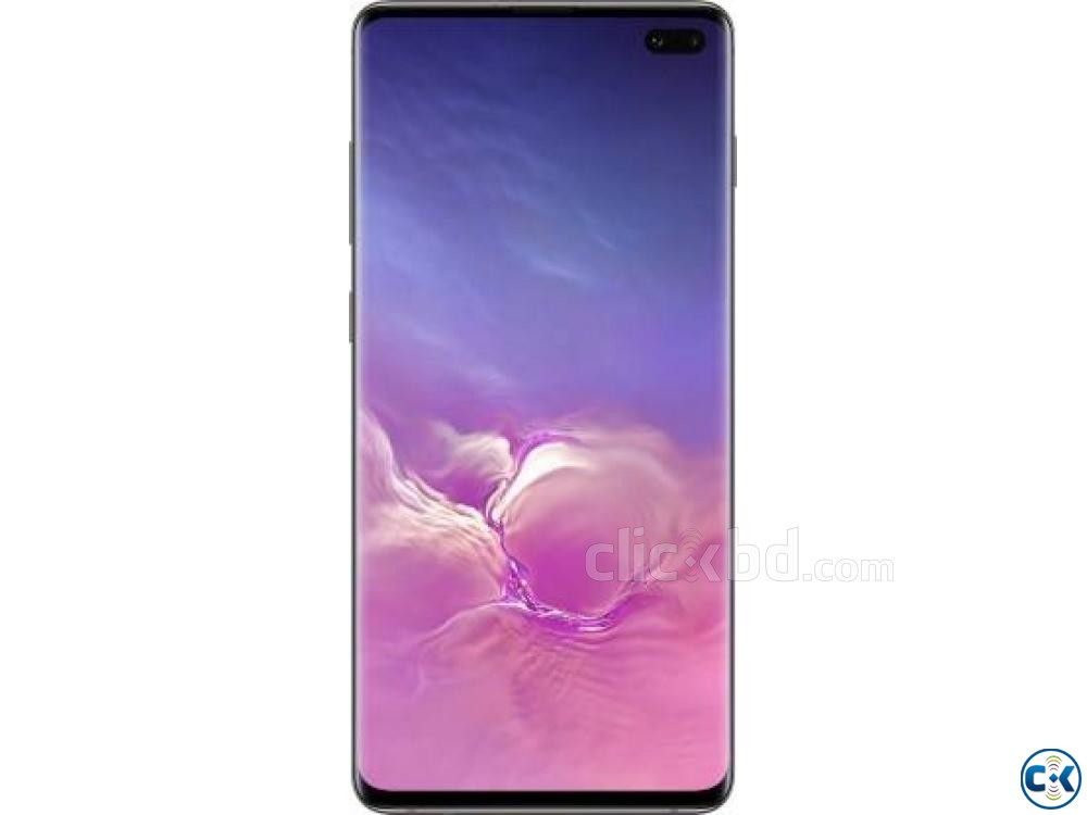 Samsung Galaxy S10 Plus Ceramic Black 128 GB 8 GB RAM  | ClickBD large image 0