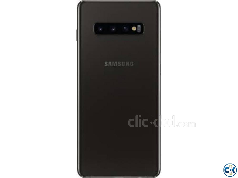 Samsung Galaxy S10 Plus Ceramic Black 128 GB 8 GB RAM  | ClickBD large image 1
