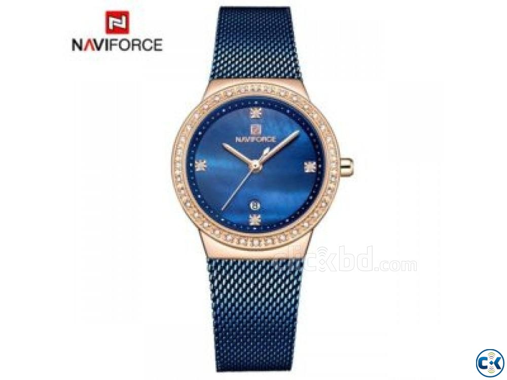 NAVIFORCE Quartz Women Watch NF5005 001 B24 | ClickBD large image 0
