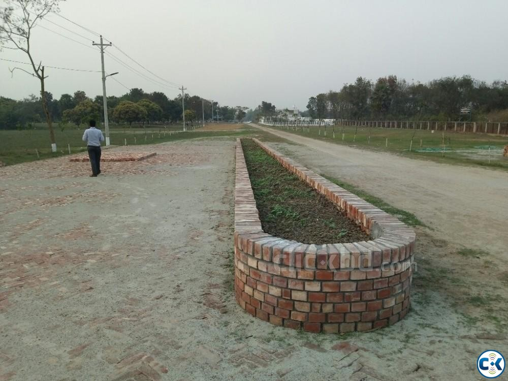 10 katha commercial plot in Purbachal | ClickBD large image 0
