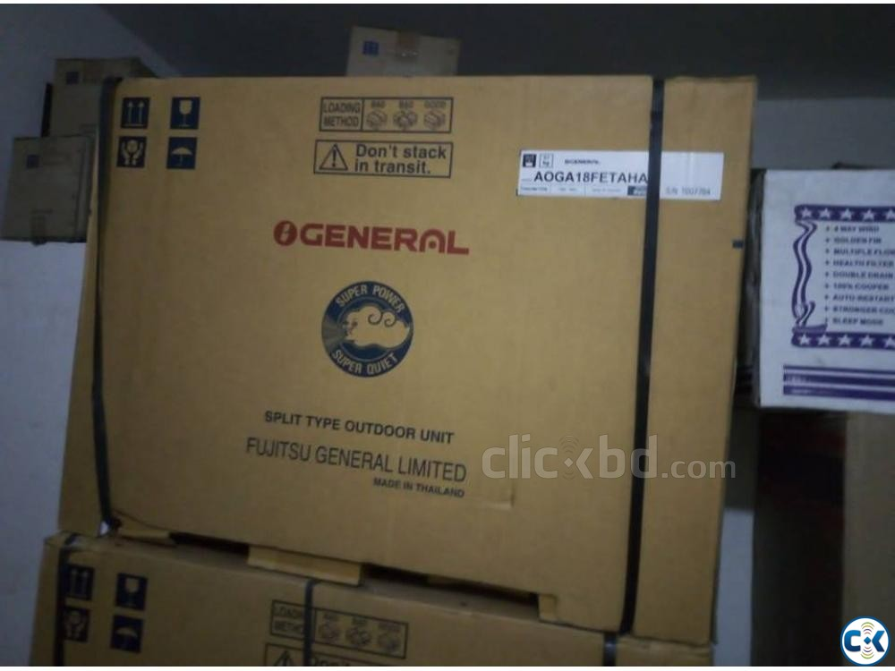 O General Admiral Compressor Split Air Conditioner 1.5 ton | ClickBD large image 2