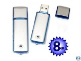 Voice Recorder with pen-drive 8GB