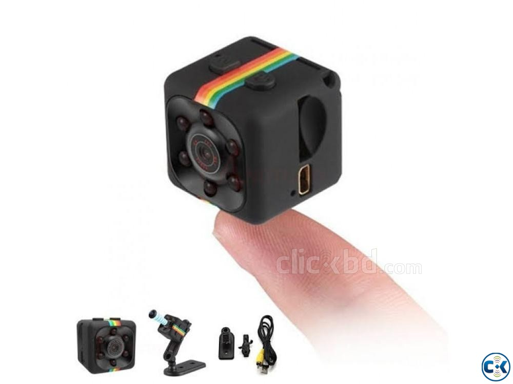 SQ11 Mini Camera 720P Night Vision Mode | ClickBD large image 1