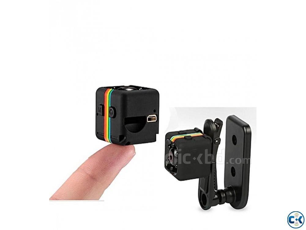 SQ11 Mini Camera 720P Night Vision Mode | ClickBD large image 4