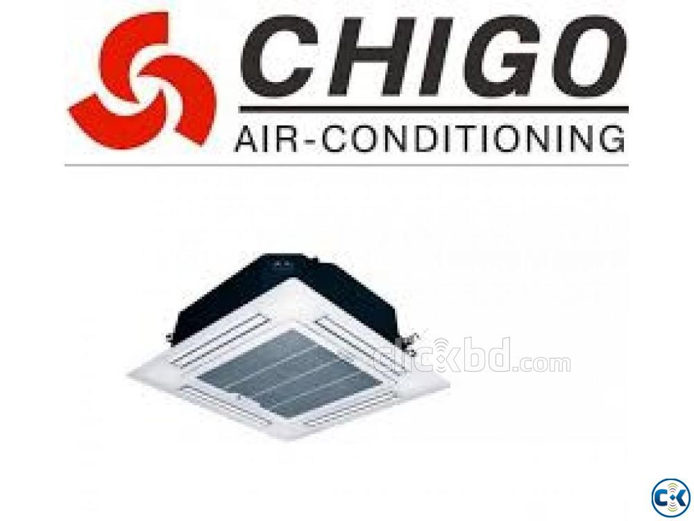 Chigo 5.0 Ton Ceiling cassette Type AC Cooling Fast | ClickBD large image 1