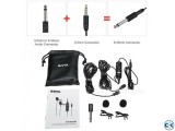 Original BOYA BY-M1DM Dual Lavalier Microphone