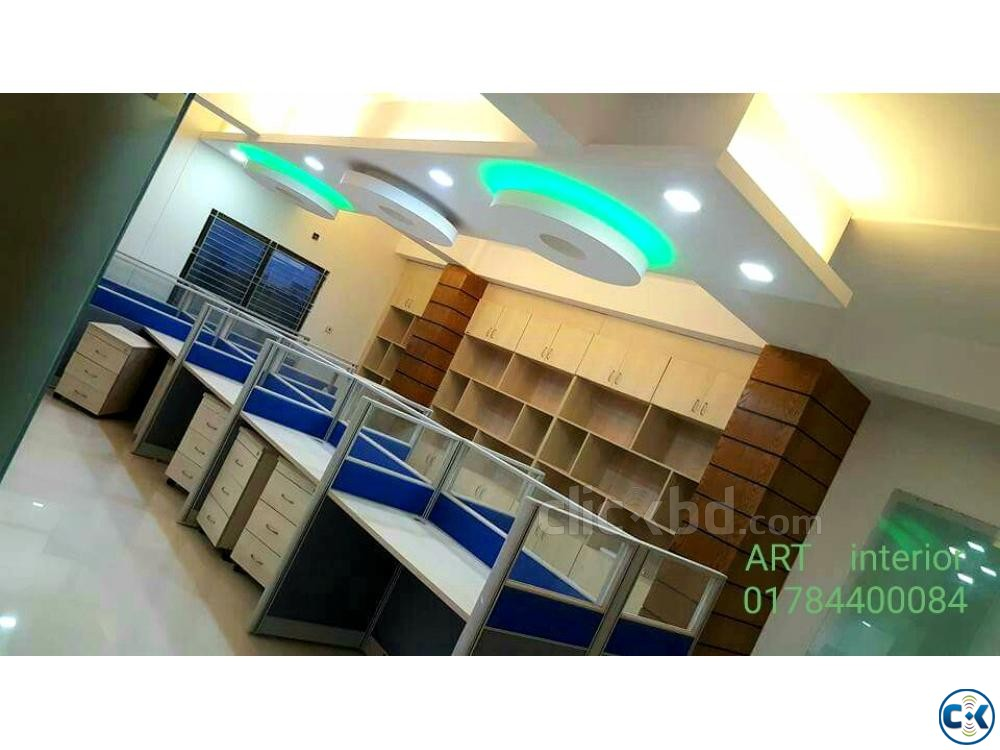 Office interior design decoration | ClickBD large image 0