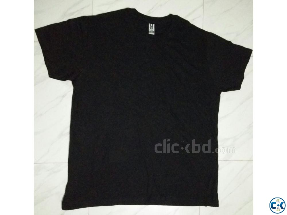 Men s solid t shirt | ClickBD large image 1