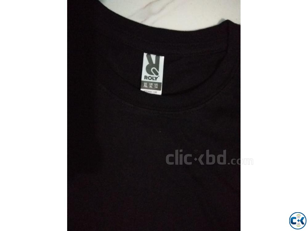 Men s solid t shirt | ClickBD large image 2