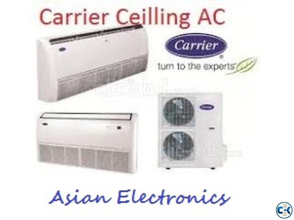 4.5 Ton Carrier AC Ceiling Cassette Type Air Condition | ClickBD large image 0