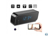 Spy Camera Digital Table Clock Wifi IP Cam Night Vision CCTV