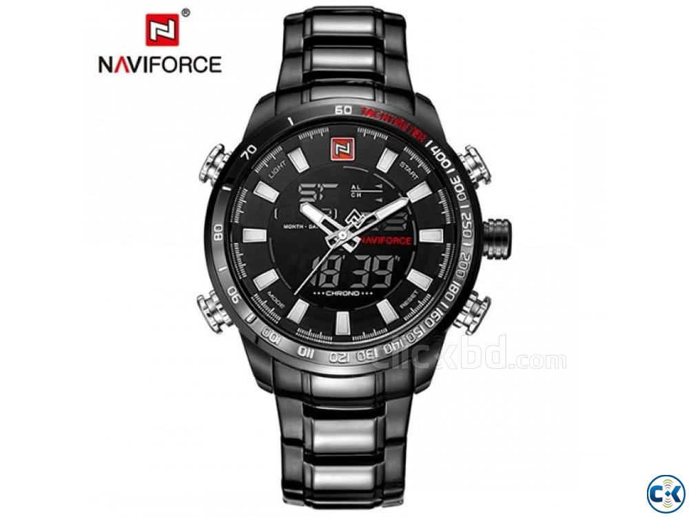 MJ NaviForce 9093 Black | ClickBD large image 0