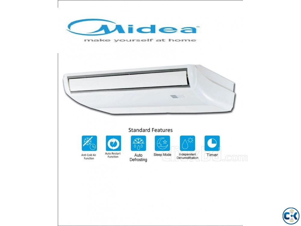 MIDEA 5 Ton Air Conditioner Ceilling Cassette Type ac | ClickBD large image 0