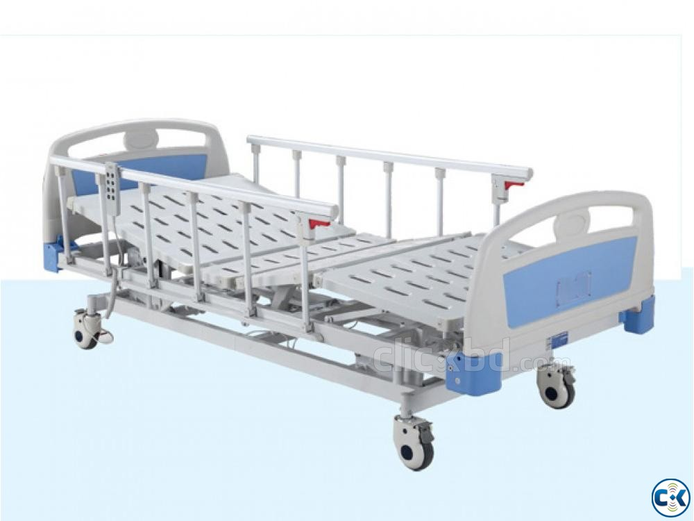 Electric Hospital Bed Electric Medical Bed with 3 Functions | ClickBD large image 0