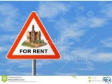 1500 sft South Facing Flat ready for Rent