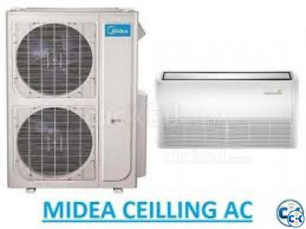 MIDEA Air Conditioner 4.0 Ton Celling Cassette Type ac | ClickBD large image 0
