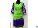 1 piece cotton kurti