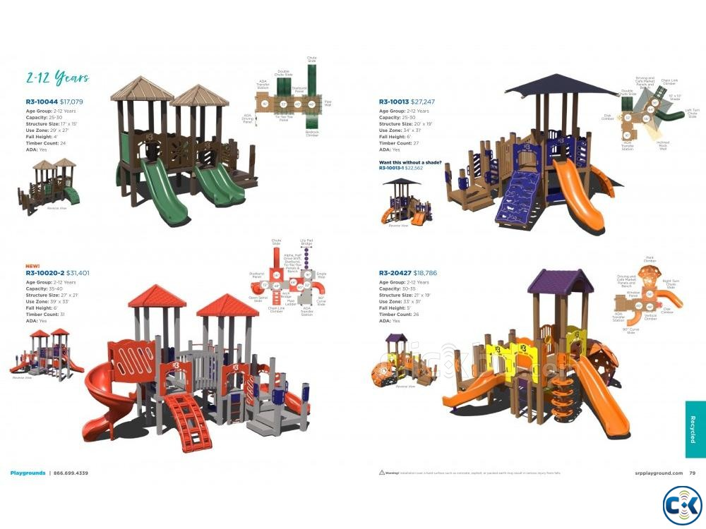 CHILDREN INDOOR OUTDOOR PLAYGROUND EQUIPMENTS | ClickBD large image 3