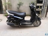 Mahindra Gusto 110 CC 10 years Registration