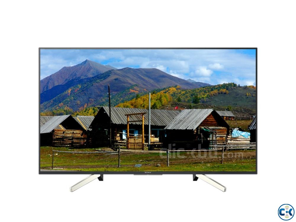 SONY BRAVIA 49X7500F 4K HDR ANDROID TV | ClickBD large image 3