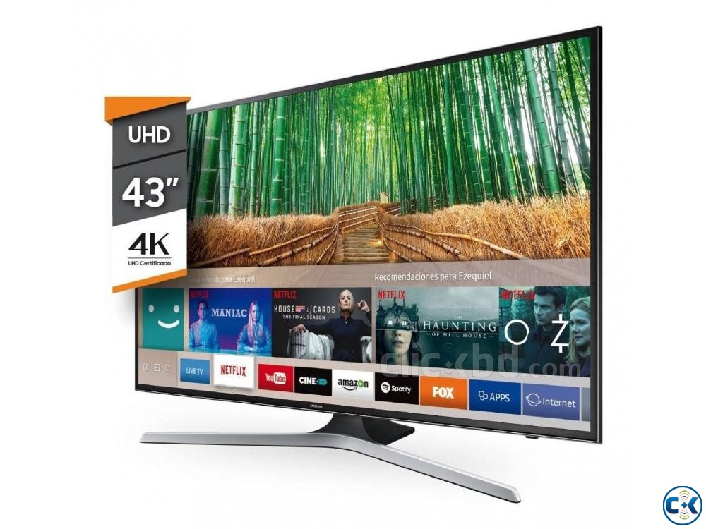 samsung 43 mu6100 4k UHD with voice remote Led TV | ClickBD large image 2
