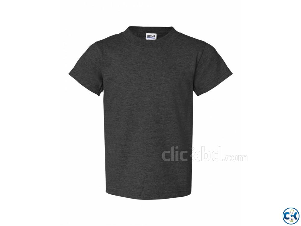 GREY COLOR T SHIRT | ClickBD large image 2