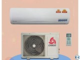 Chigo 1.0 ton split air conditioner/ac has 12000 BTU