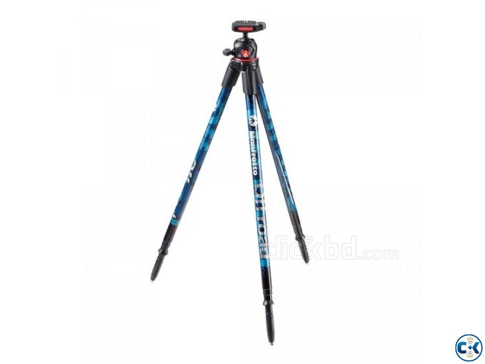 Manfrotto Off road Aluminum Portable Tripod with Ball Head | ClickBD large image 1