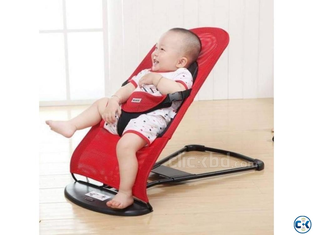 Rocking Baby Bouncer Baby Balance Chair Baby Rocking Chair | ClickBD large image 0
