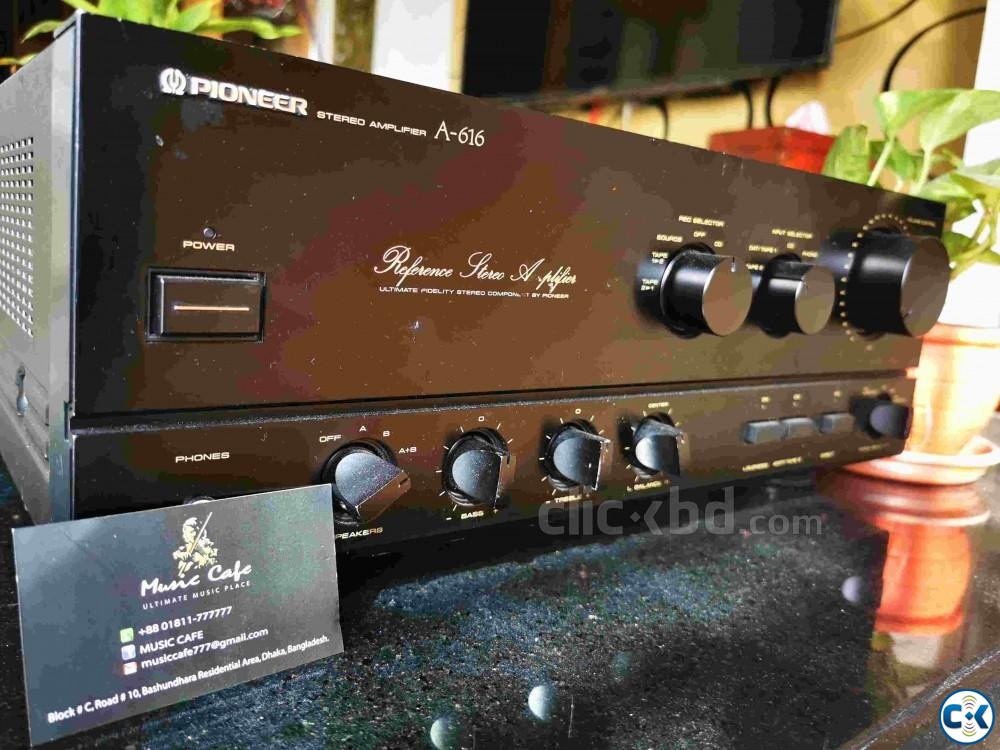 PIONEER REFERENCE SERIES AMPLIFIER | ClickBD large image 0