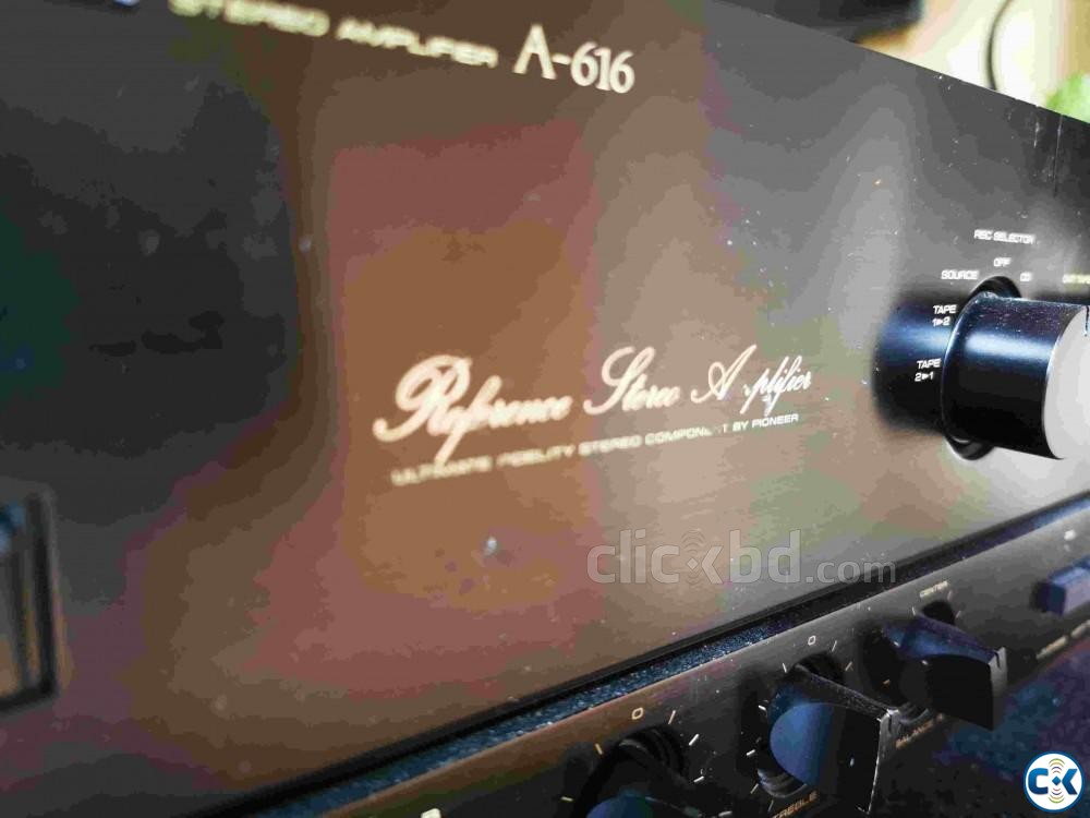 PIONEER REFERENCE SERIES AMPLIFIER | ClickBD large image 1