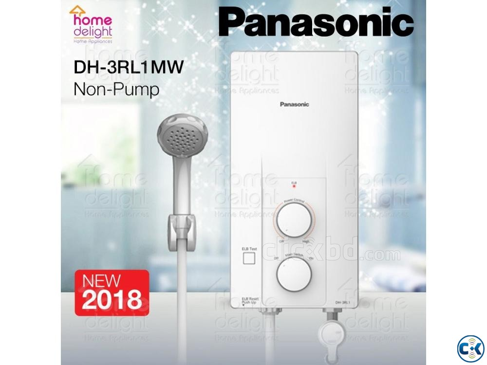 Panasonic DH-3RL1MW Electric Power Instant Water Heater | ClickBD large image 0