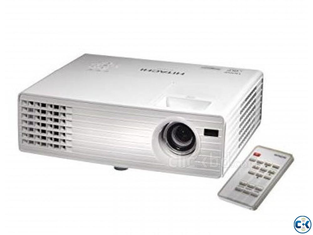 HITACHI MULTIMEDIA PROJECTOR MODEL CP-DX300 | ClickBD large image 1