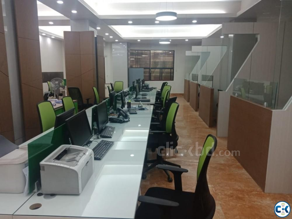 5 Storied building with 24 000 sft shaded space for rent | ClickBD large image 2