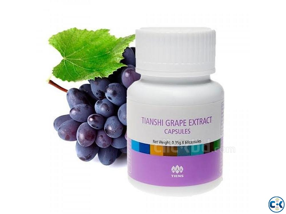 Tianshi Grape Vigoros Extract Capsules | ClickBD large image 1