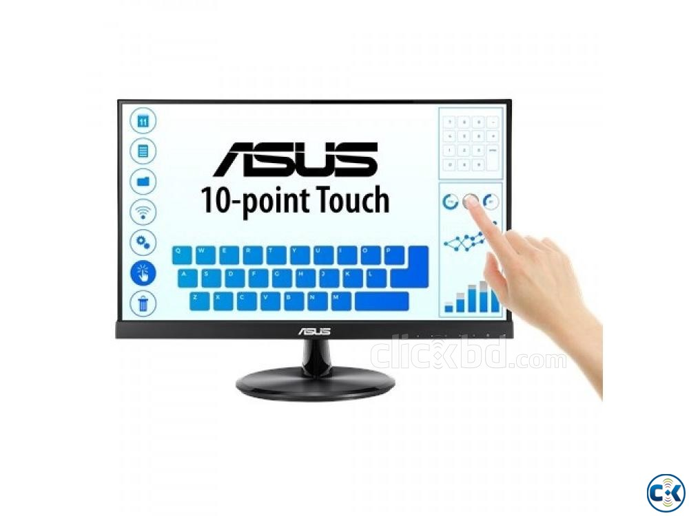 ASUS VT229H 21.5 Full HD 5ms Touch Monitor | ClickBD large image 0