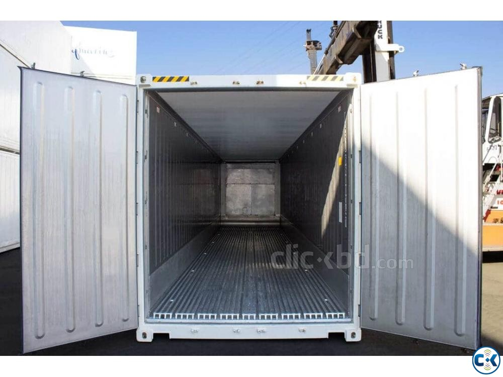 40 Feet Reefer Refrigerated Container 13 Nos Ready Stock  | ClickBD large image 1