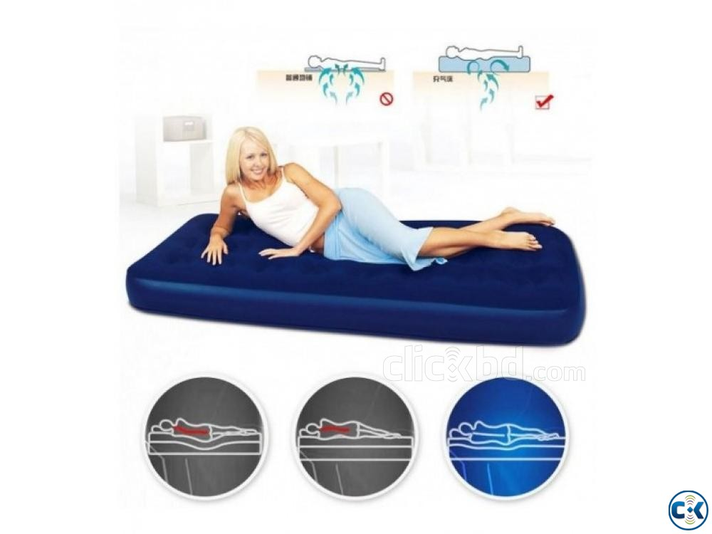 Jilong Semi Double Air Bed Free Pumper | ClickBD large image 0