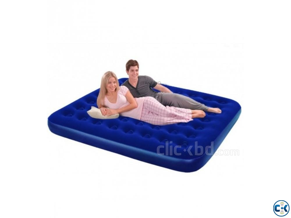 Jilong Semi Double Air Bed Free Pumper | ClickBD large image 1