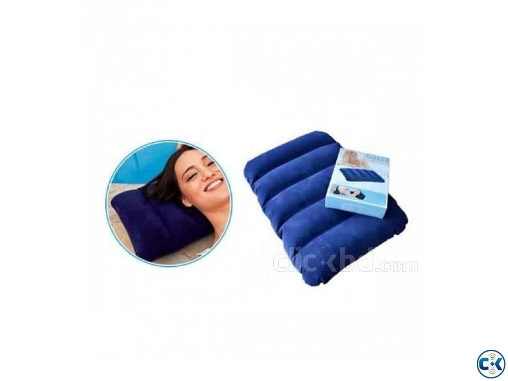 intex Air Pillow inflatable Balish | ClickBD large image 1