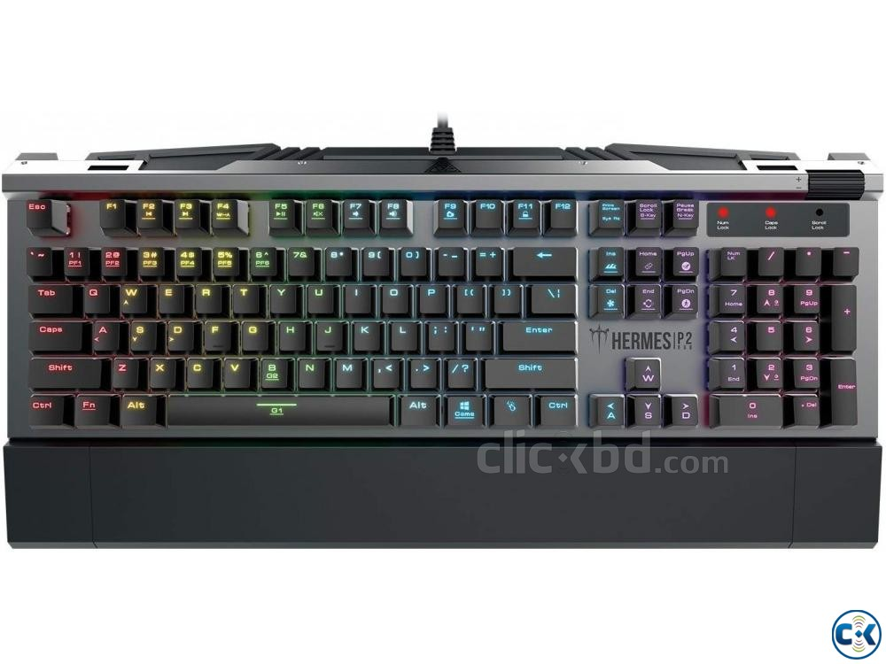 Gamdias HERMES P2 RGB Mechanical Gaming Keyboard | ClickBD large image 0