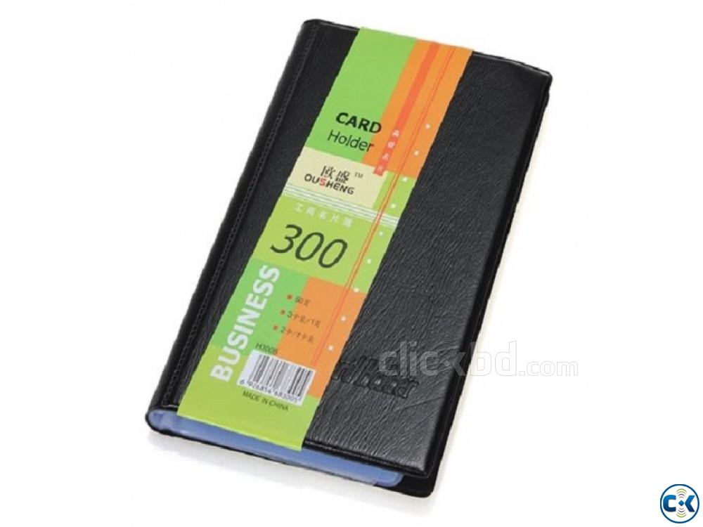 Business Card Holder Visiting Card Holder 300 Card | ClickBD large image 0